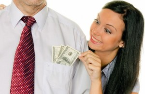 Как жене не просить денег у ушедшего мужа