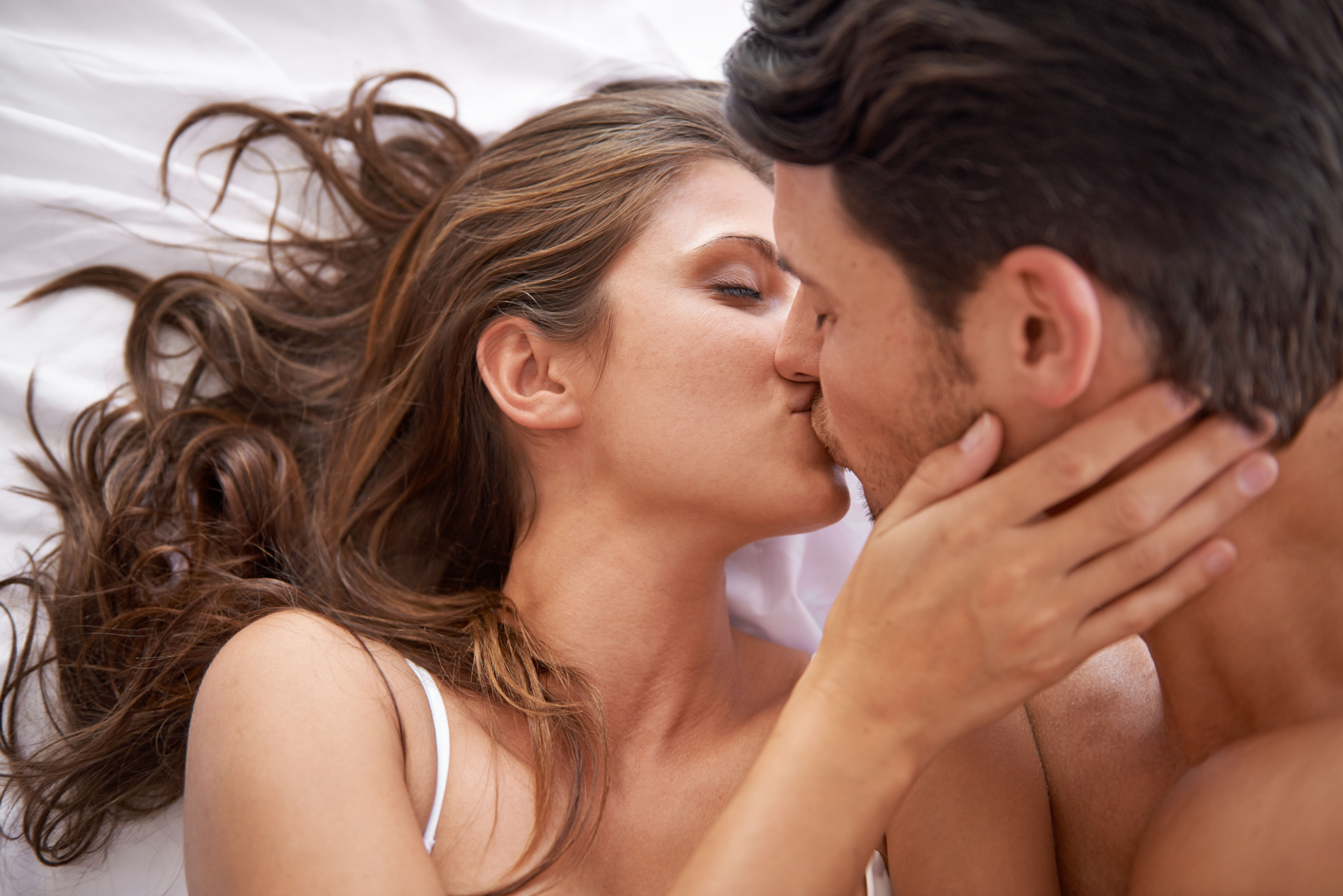 Открытка про мужчину и женщину