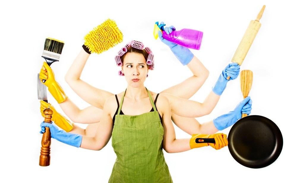 Картинка домохозяйка смешная