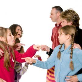 Как братья и сестры конфликтуют из-за племянников